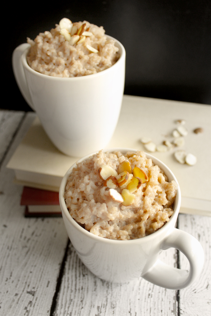 Almond-vanilla Rice Pudding Recipe — Dishmaps