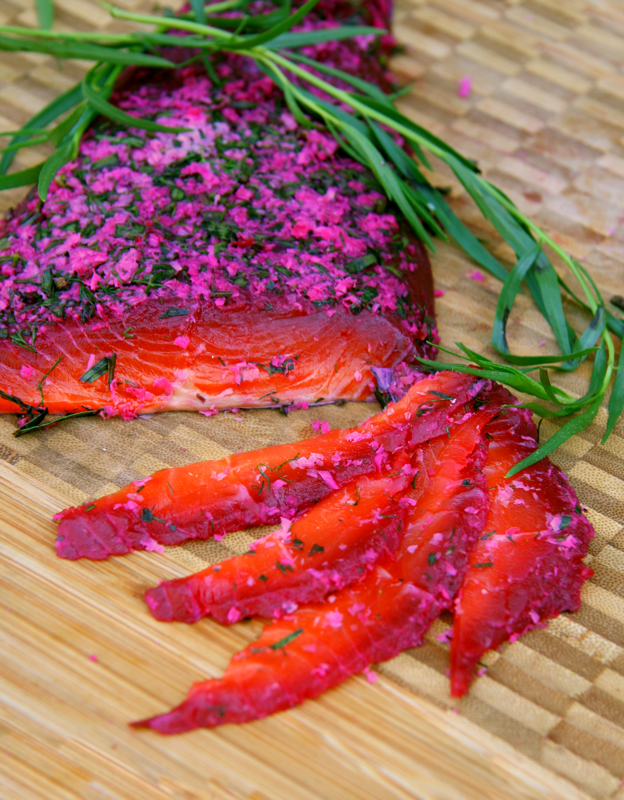 Beet-Cured Gravlax Recipes — Dishmaps