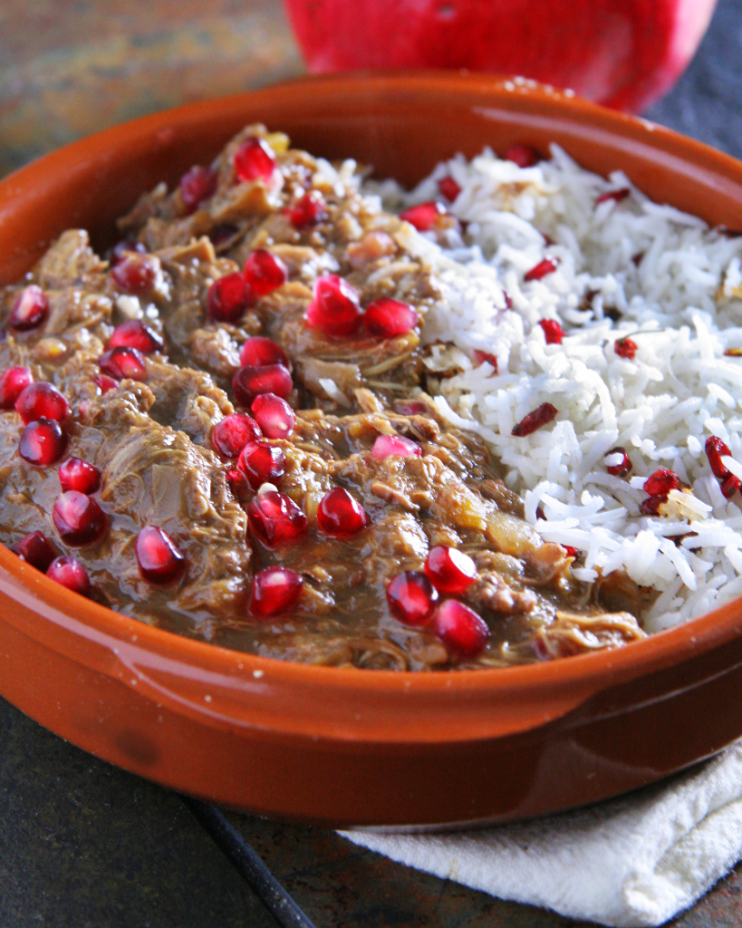 Khoresh-e Fesenjān – Persian Pomegranate Stew with Chicken, Squash ...