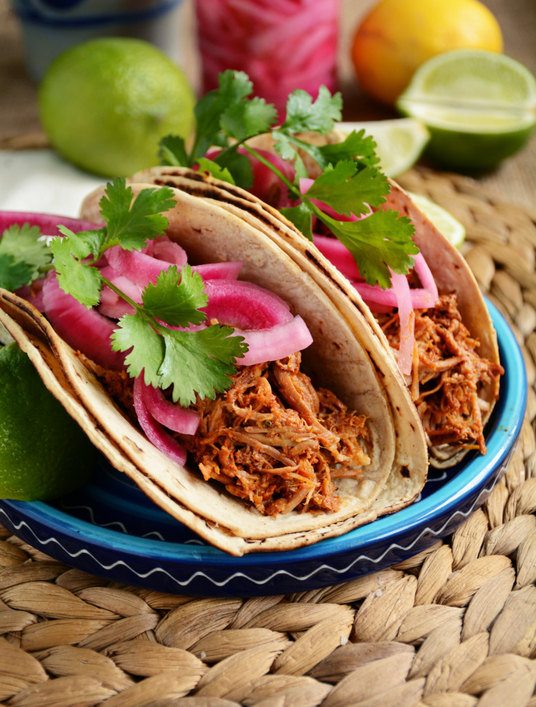 slow cooker cochinita pibil tacos yucatan pulled pork
