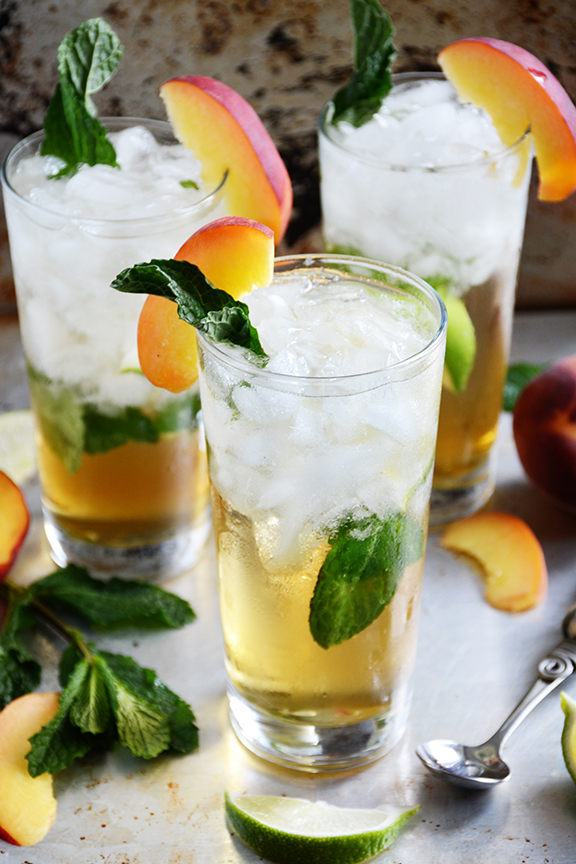 juleps ginger peach julep virgin peach julep mint julep using peach ...