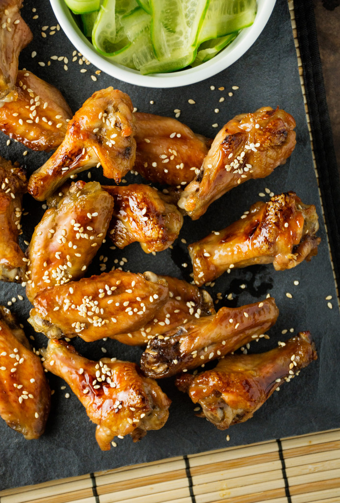 Sweet Sticky Japanese Chicken Wings